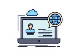 Webinar online icon